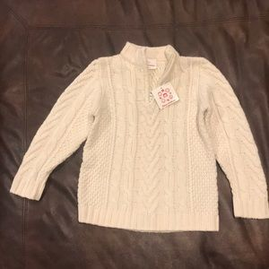 Hanna Andersson Boys Cable Knit Sweater
